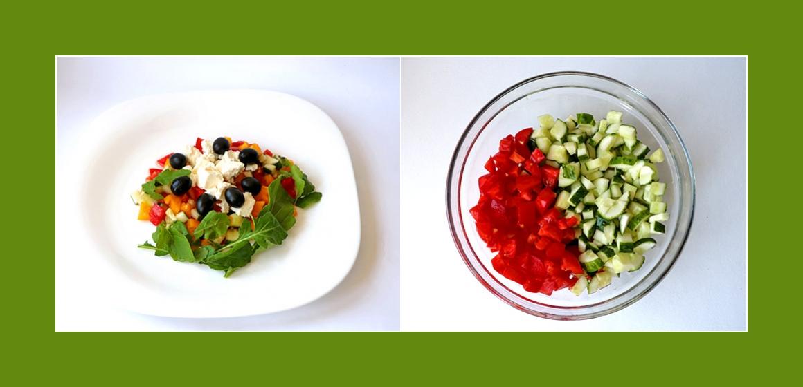 einfacher Salat Kalorien