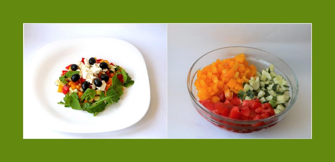 gemischter Salat Salat zum Grillen