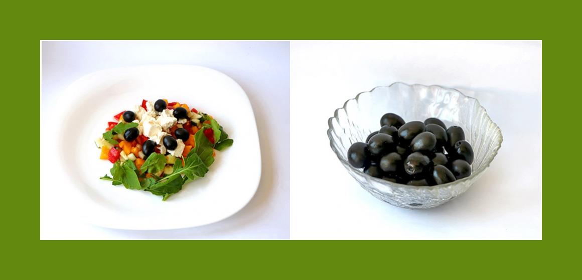 Sommersalat einfacher Gemüsesalat