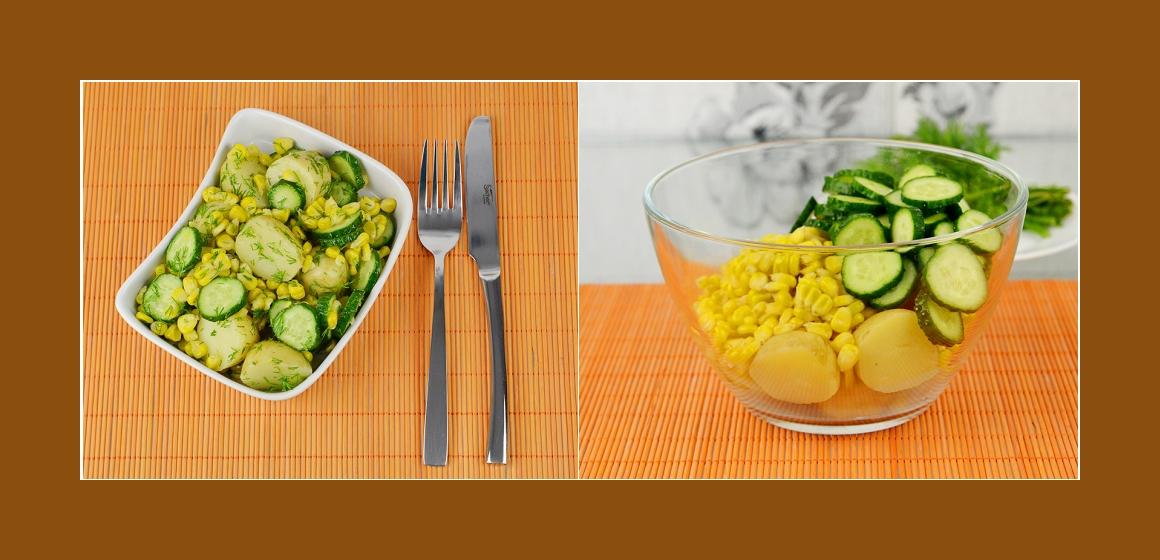 vegetarischer Salat bunter Salat