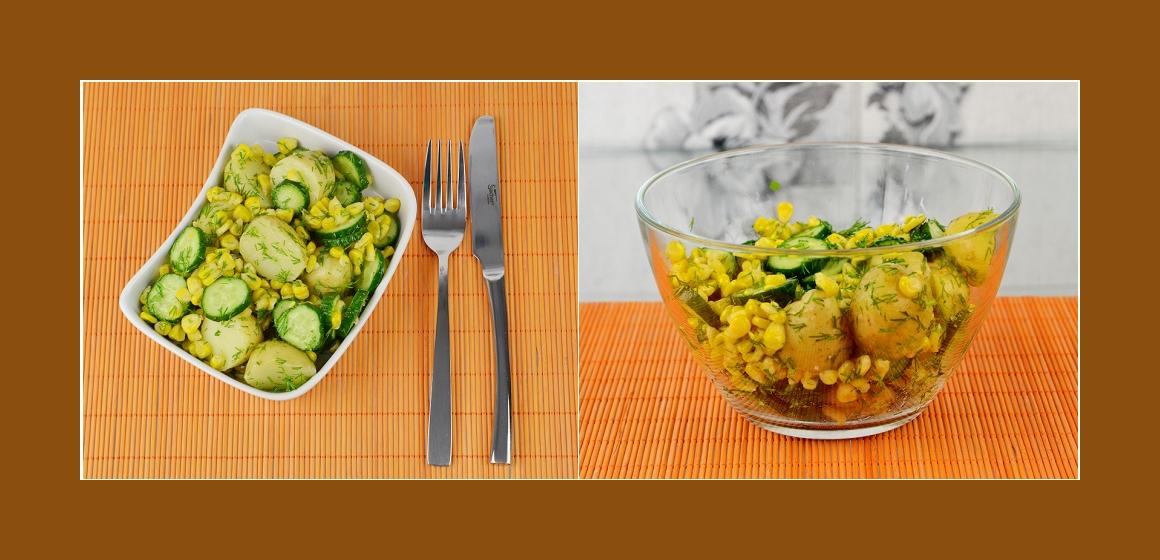 Sommersalat Salt zum Grillen