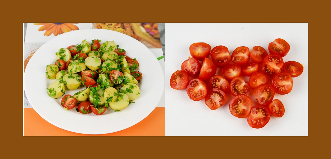 Tomaten-Kartoffelsalat