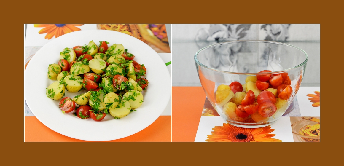 gemischter Salat Gemüsesalat Rezept