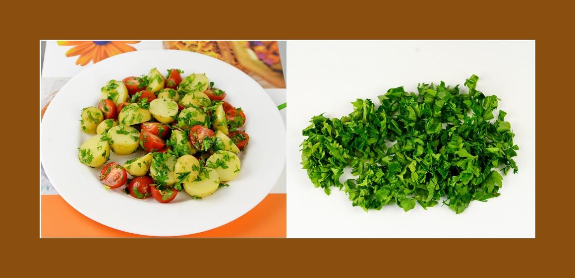 vegetarischer Salat Kalorien