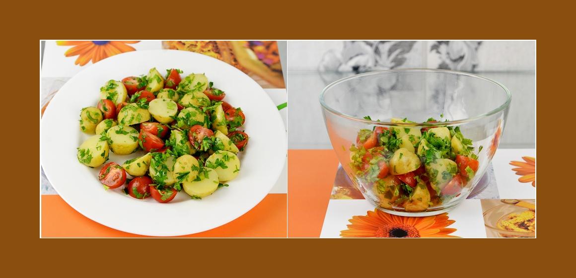bunter Salat leichter Salat