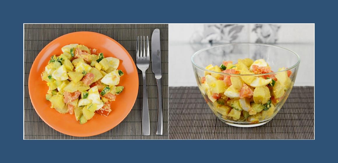 leichter Salat vegetarischer Salat