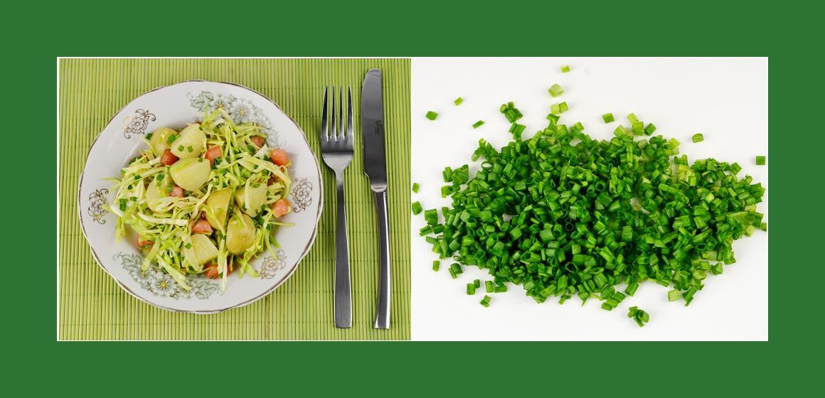 gemischter Salat Kalorien Rezept