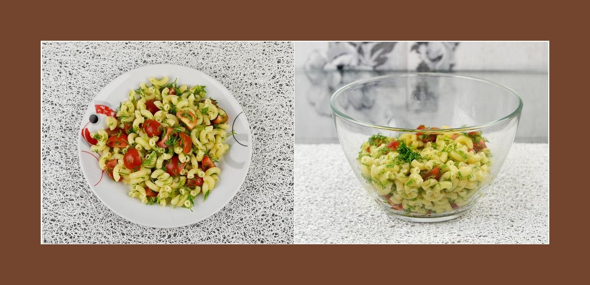 einfacher Salat Sommersalat