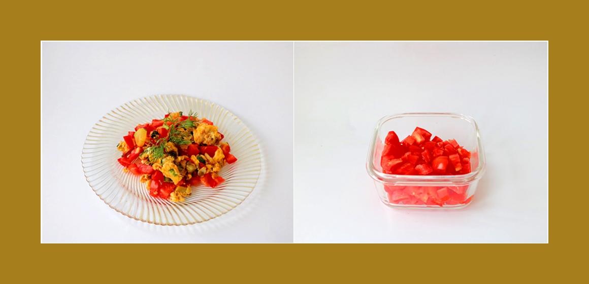 Gemüsesalat leichter Salat