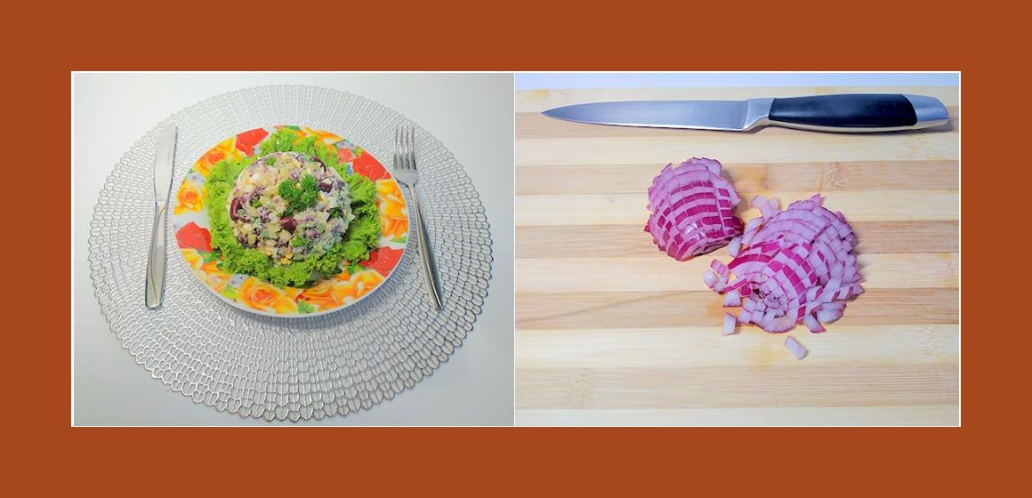 schmackhafter Salat Rezept