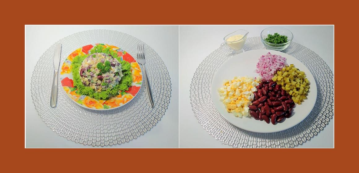 leckerer Salat Rezept Kalorien