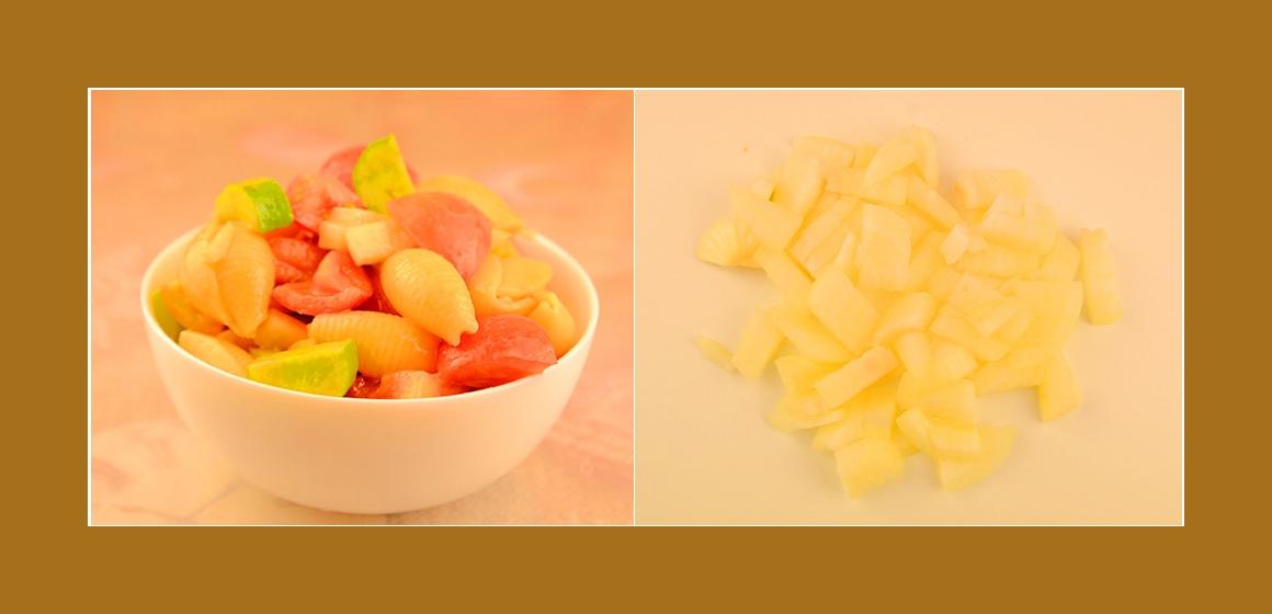gemischter Salat einfacher Salat