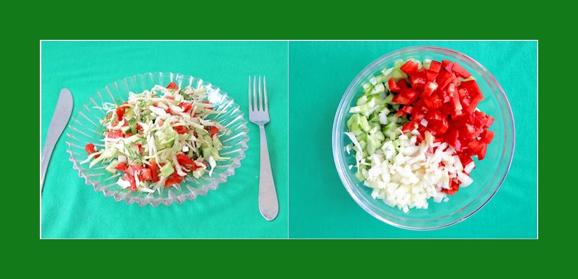 gemischter Salat Sommersalat