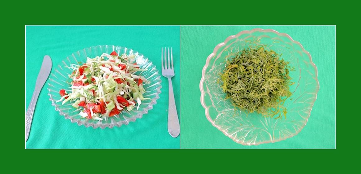 Salat zum Grillen leichter Salat