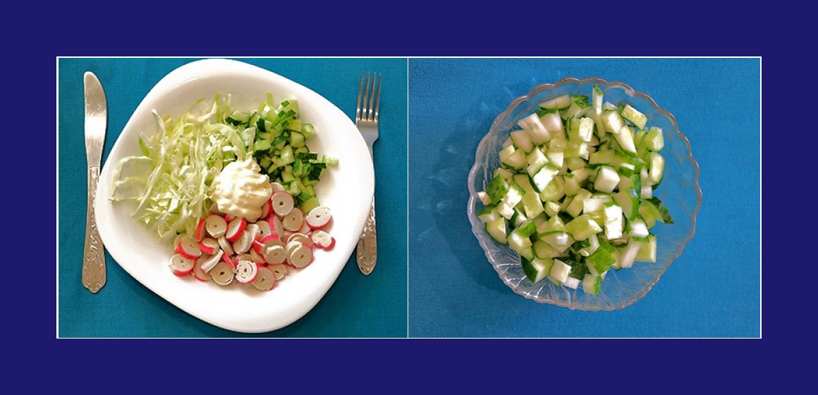 Gurkensalat Sommersalat Rezept