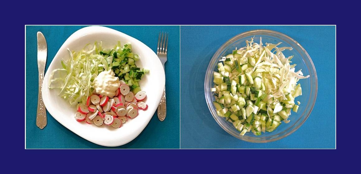 Salat zum Grillen einfacher Salat