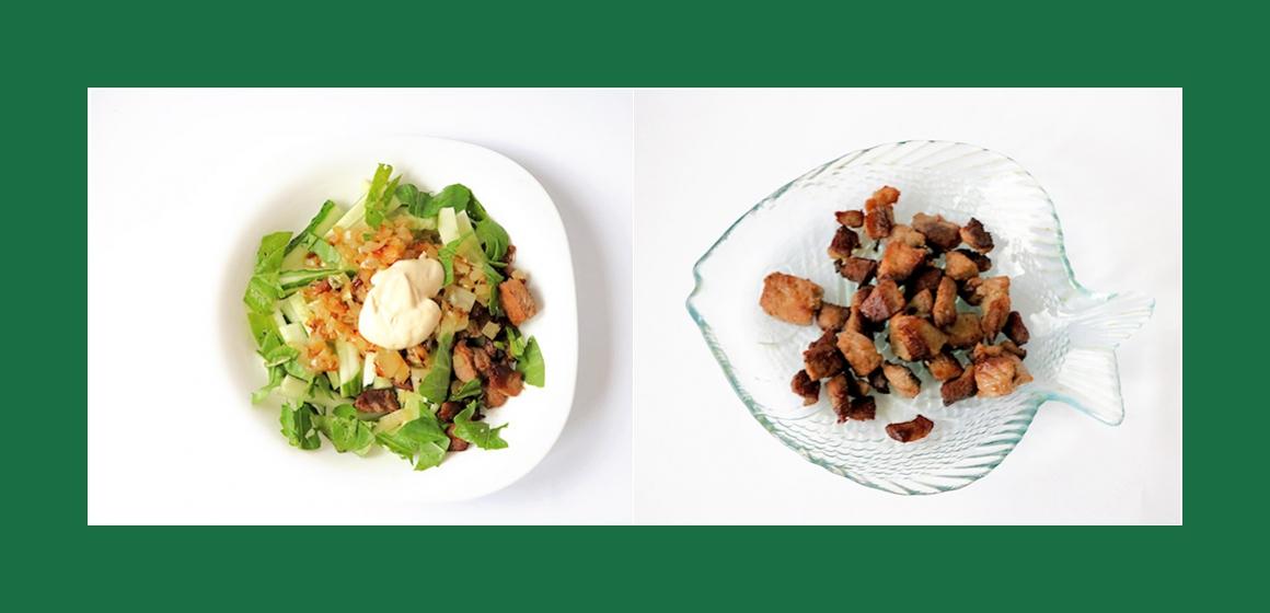 schmackhafter Salat