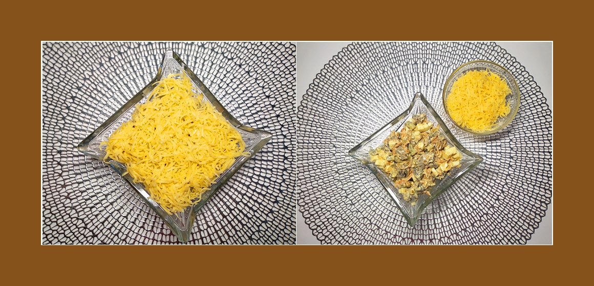 Gurken-Möhren-Hühnerlebersalat