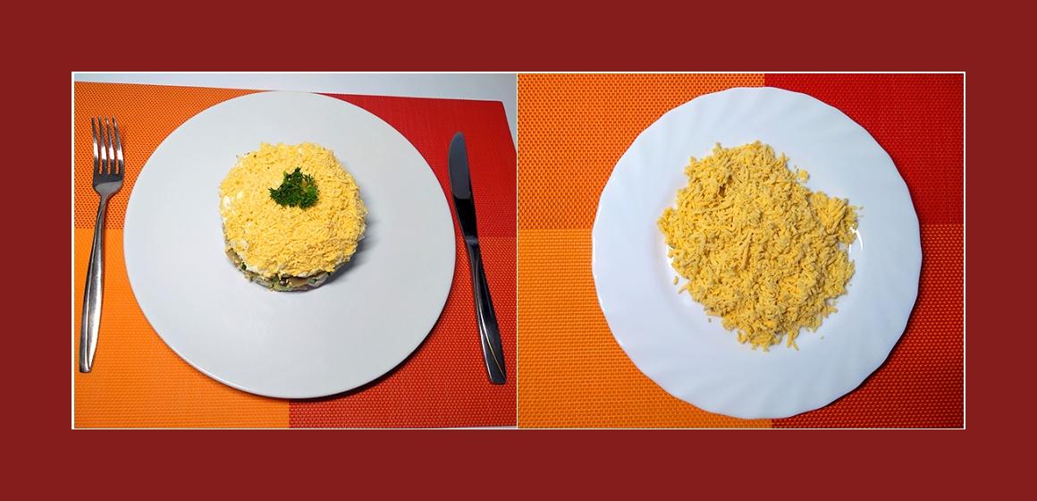 Hühner-Gurken-Tomatensalat
