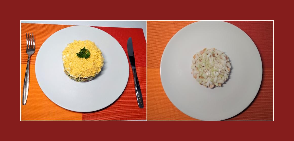 pikanter Schichtsalat Rezept