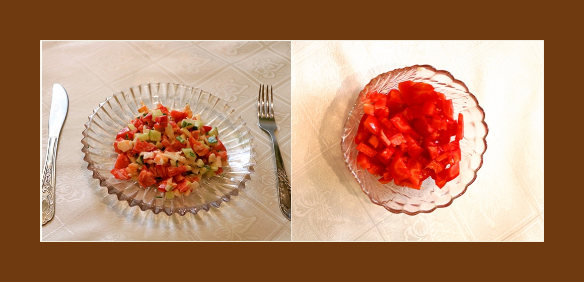Tomatensalat Gurkensalat Rezept