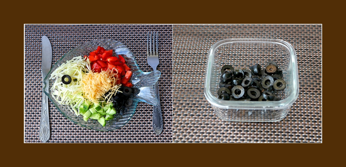 gemischter Salat leichter Salat
