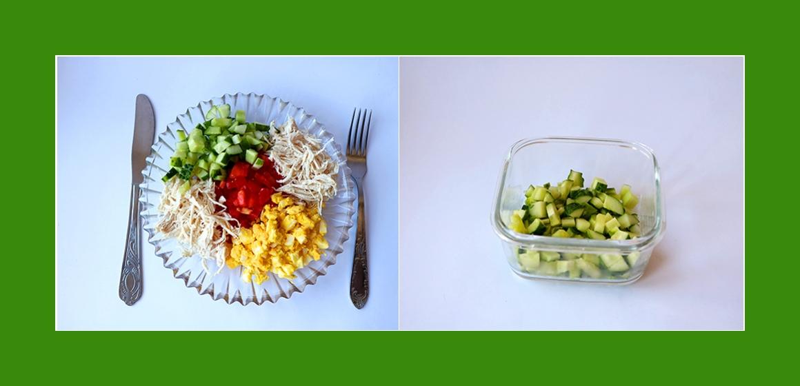 einfacher Salat Kalorien Rezept