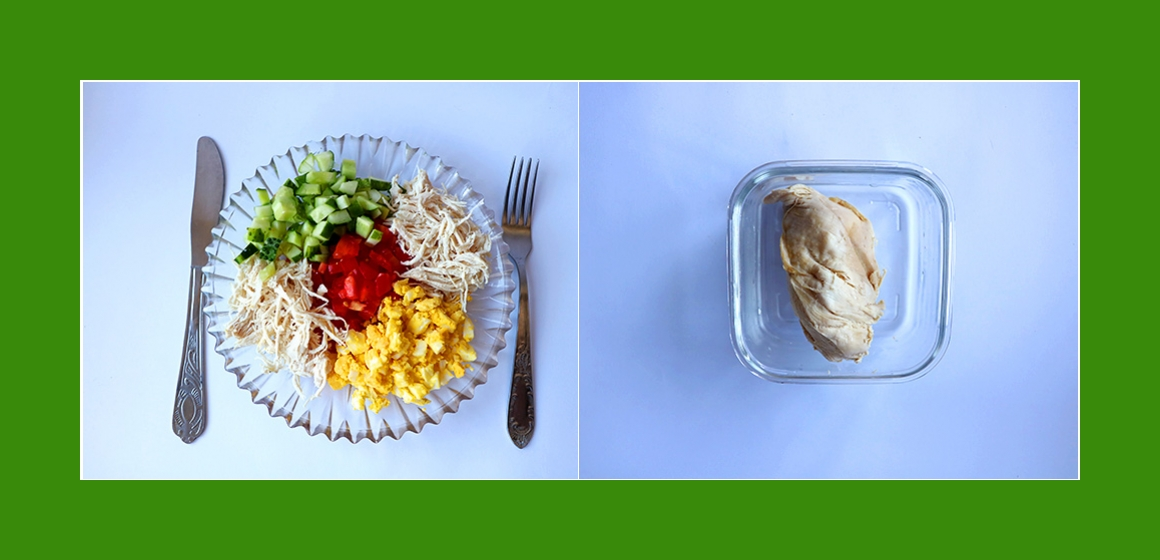 einfacher Salat leichter Salat