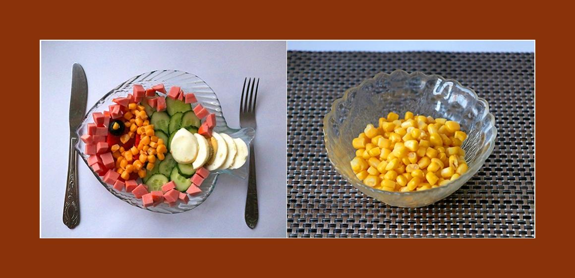 grmischter Salat bunter Salat