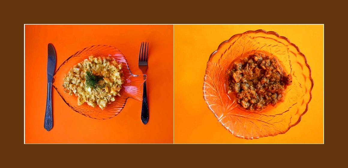 Salat mit Thunfisch Eiern