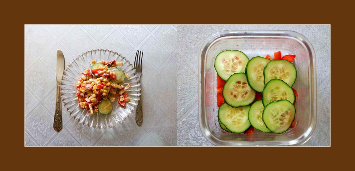 leichter Salat einfacher Salat