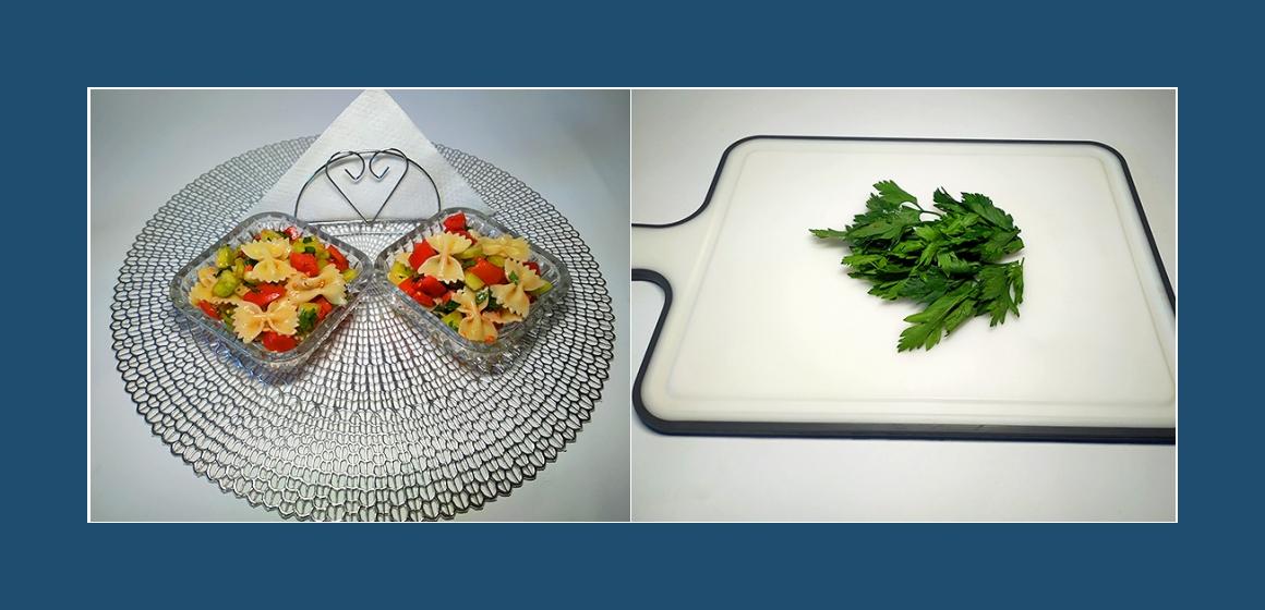 nahrhafter Salat Nudelsalat Rezept