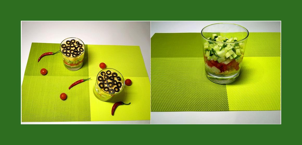 bunter Salat nahrhafter Salat