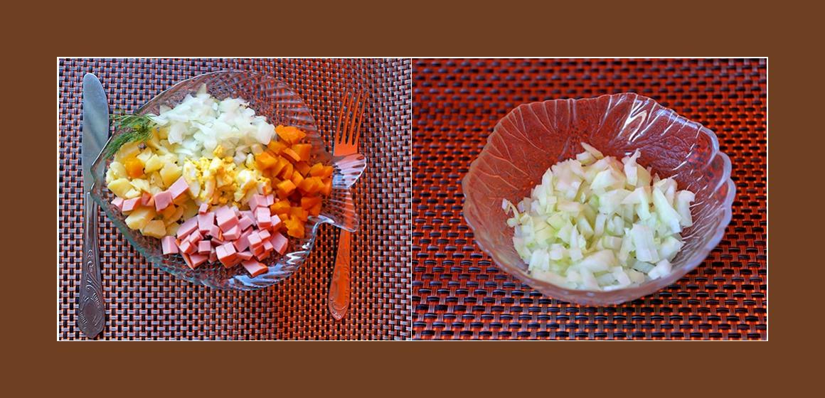 einfscher Salat Kalorien