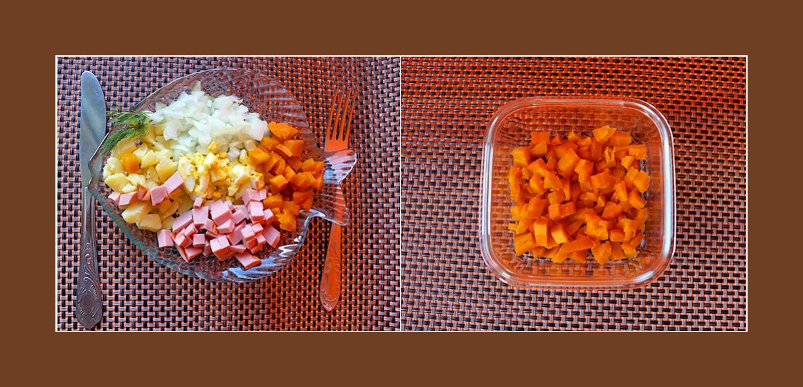Kartoffel-Möhren-Salat Rezept