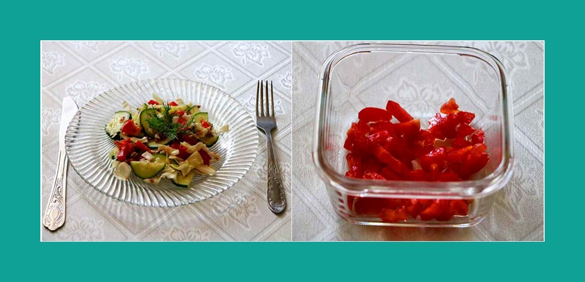 Tomatensalat leichter Salat