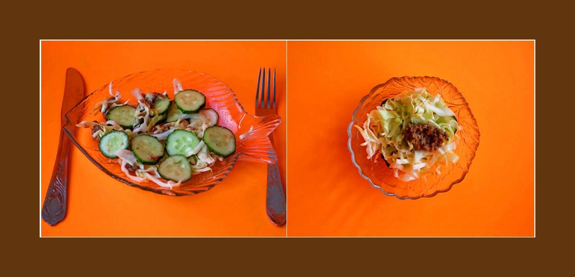 Salat Rezept Kalorien