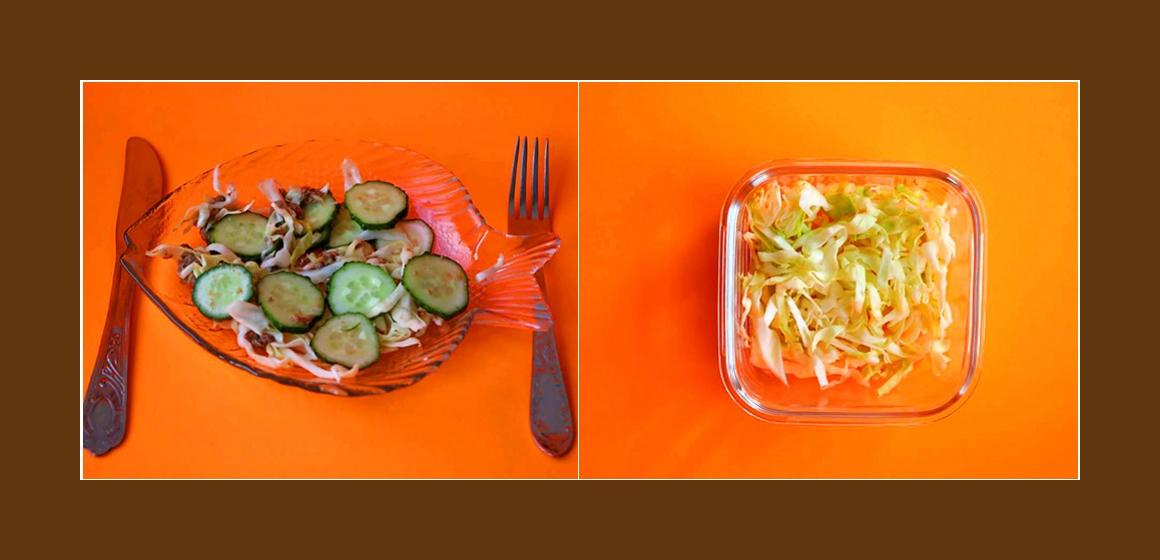 leichter Salat Rezept