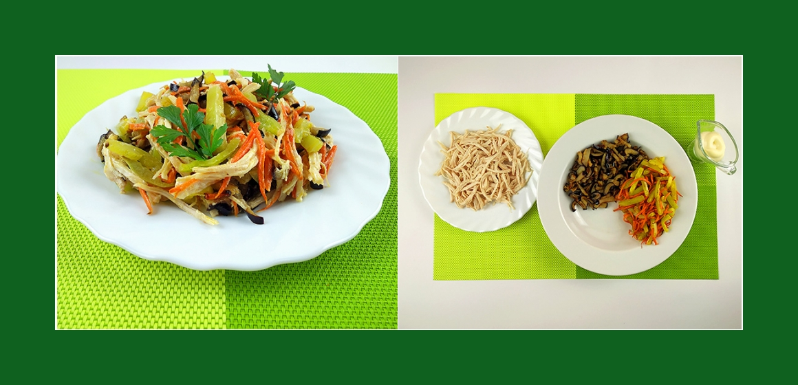 frischer Salat Gemüsesalat