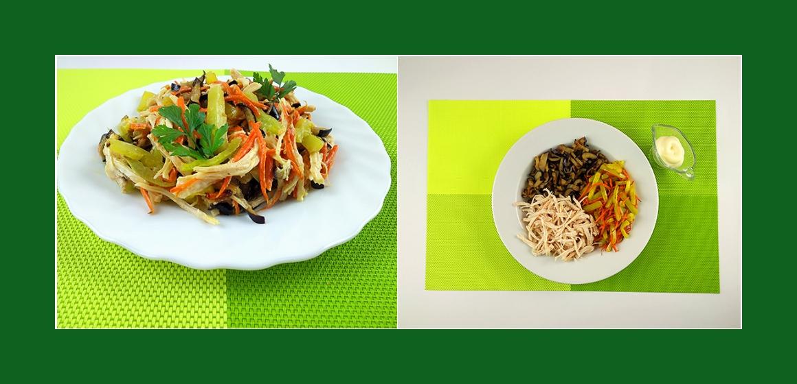 nahrhafter Salat Salat zum Grillen