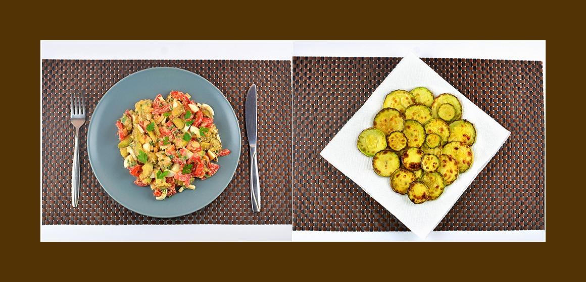 einfacher Salat pikanter Salat