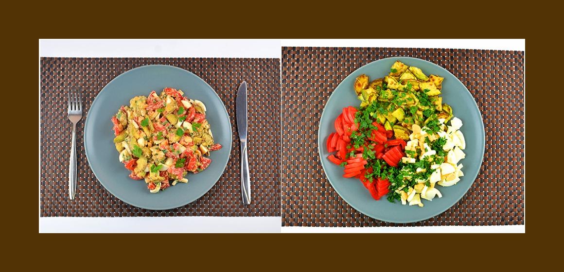leckerer Salat pikanter Salat