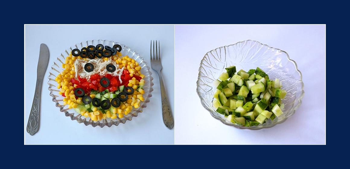 Gurkensalat einfacher Salat