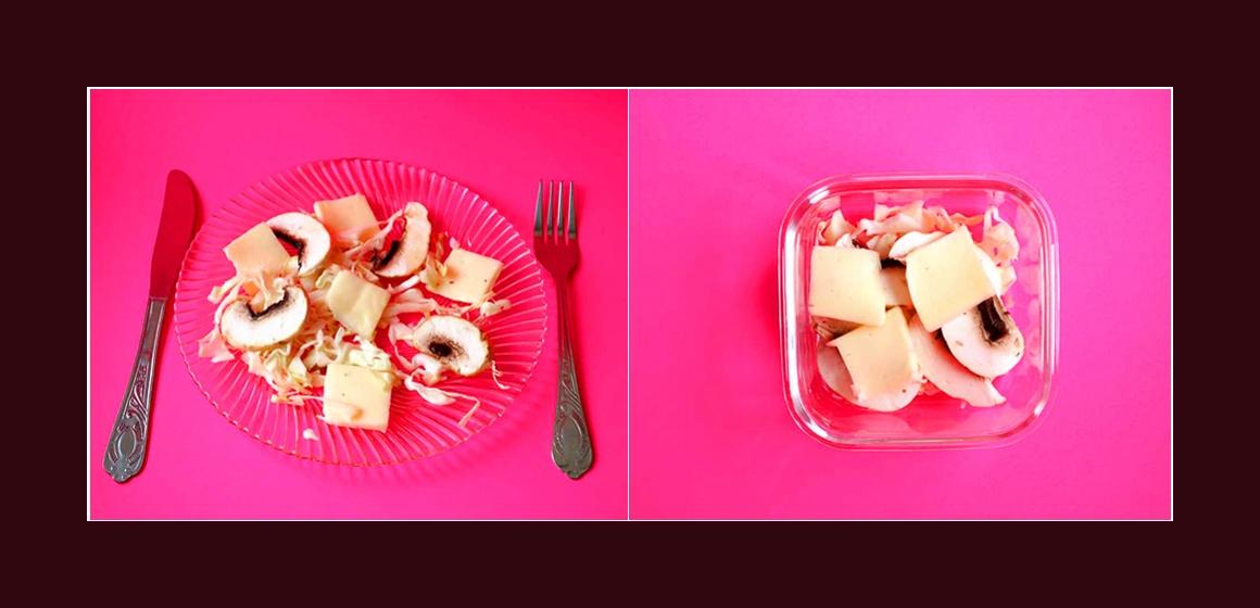 lecihter Salat Rezept Zutaten