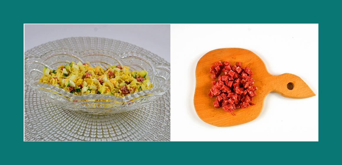 nahrhafter Saalt einfacher Salat