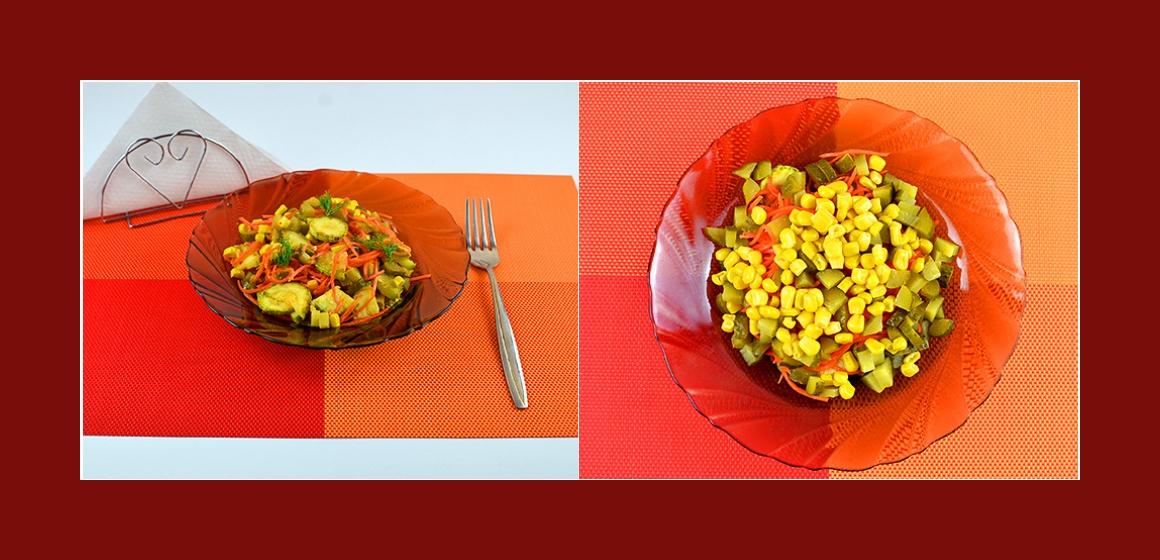Zutaten leckerer Salat nahrhafter Salat