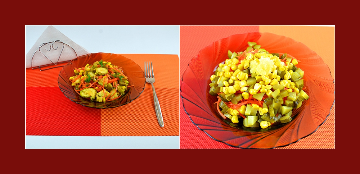 pikanter Salat leichter Salat