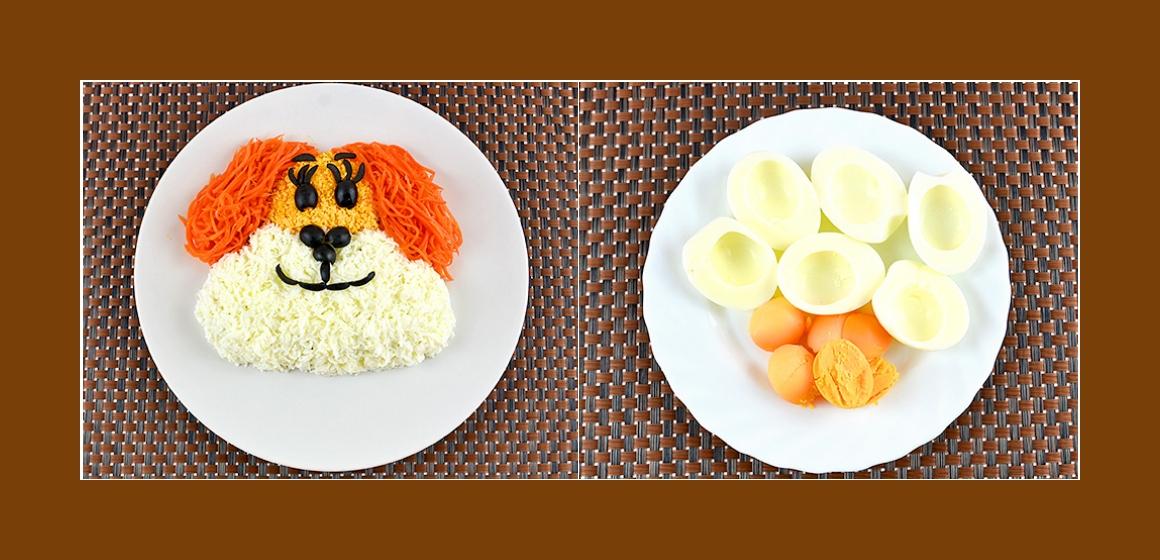 Hähnchensalat gemischter Salat
