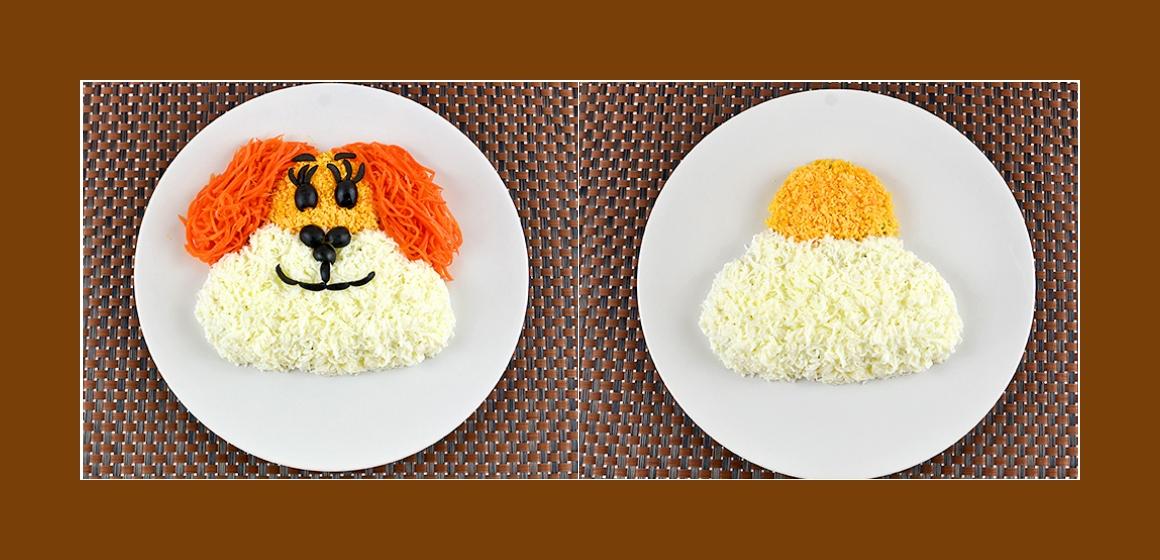 nahrhafter Salat sanfter Salat