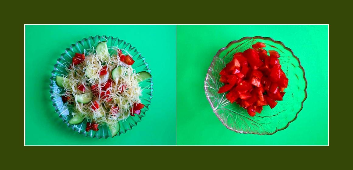 nahrhafter Salat Rezept Zutaten
